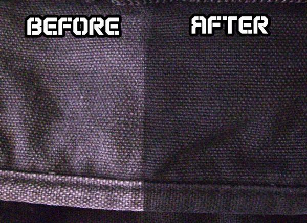 Black Convertible Roof Canvas Dye Soft Top Reviver