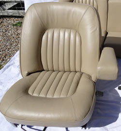Rover P5B Seat Restoration After