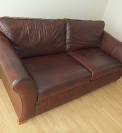 Leather Sofa Wear After