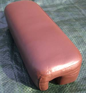 Leather Arm Rest After