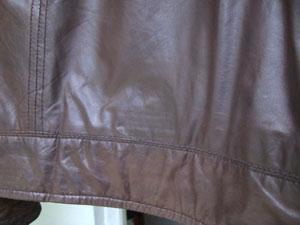 43b7e041dba Leather Jacket Tear After