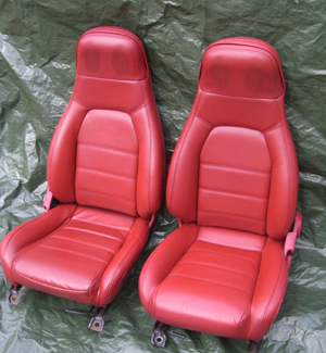 Mazda Leather Car Interior Repair Cleaning Restoration