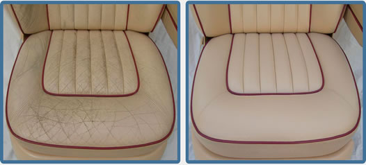 Leather Car Interior Restoration