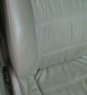 Car Seat Bolster Wear After