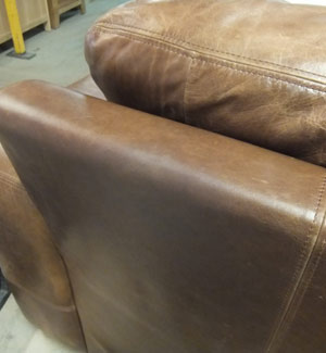 Aniline Sofa Tear After