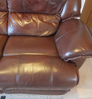 Leather Sofa Colour Loss After