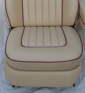 Bentley Car Seat Restoration After