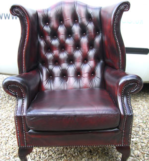 Arm Chair After Full Restoration