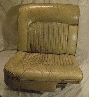 Daimler Car Seat Restoration Before