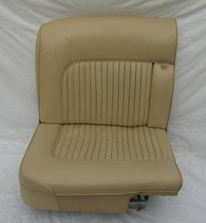 Daimler Car Seat Restoration After