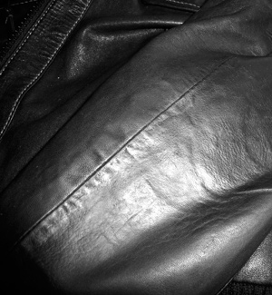 Leather Jacket Hole After
