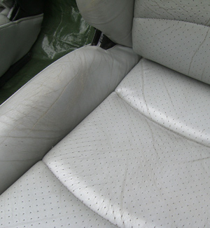 Porsche Seat Restoration Before