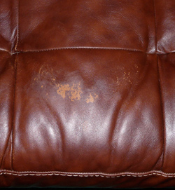 Leather Sofa Damage Before